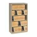 Five Shelf Open Lateral File Shelving Unit, 30059