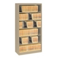 Six Shelf Open Lateral File Shelving Unit, 30060S