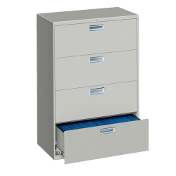 """Four Drawer Lateral File - 30""""W, 30193"""