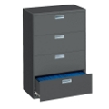 "Four Drawer Lateral File - 42""W, 30195"