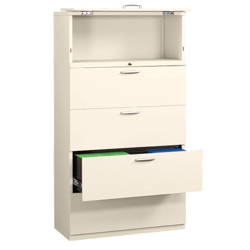 "Five Drawer 36"" Wide Lateral File, 30561"