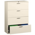 "36"" Wide Four-Drawer Lateral File with Counterweights, 30576"