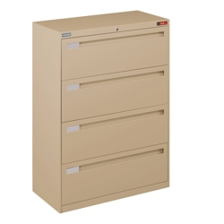 Spectrum Four Drawer Lateral File 36 W