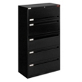 "Spectrum Five Drawer Lateral File - 36""W, 30763"