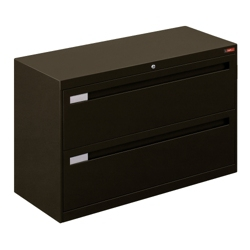 "Spectrum Two Drawer Lateral File with Counterweight - 42""W, 30769"