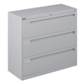 "Spectrum Three Drawer Lateral File with Counterweight - 42""W, 30587"