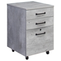 "Urban 18""W Three drawer Mobile File Pedestal, 30936"