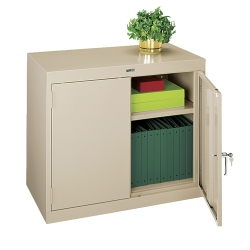 "Desk Height Steel Storage Cabinet- 36""W, 31235"