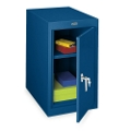 Desk Height Single-Door Steel Storage Cabinet, 31237