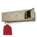 Heavy-Duty 4-Person Wall Mount Box Locker Unit, 31239