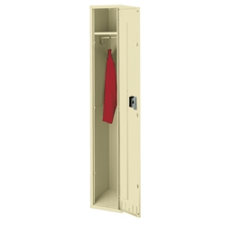 "Antimicrobial Single Tier Locker - 72""H, 31923"