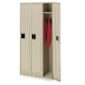 Set of Three Single Tier Lockers, 31241