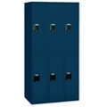 Set of Three Double Tier Lockers, 31243