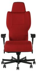 Dauerhaft 24/7 Fabric Chair with Flip Arms, 57220