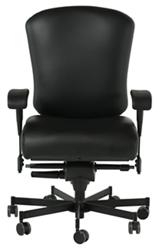Dauerhaft 24/7 Leather Chair with Flip Arms, 57230