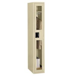 Single Tier Locker with See-Thru Doors, 31527