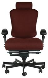 Dauerhaft 24/7 Wide Fabric Chair with Headrest, 57243