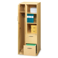 Storage Tower with 2 File Drawers, 31662
