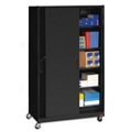 "48""W x 24""D x 85""H Mobile Sliding Door Cabinet, 31730"