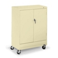 "36""W x 18""D x 49""H Mobile Storage Cabinet, 31737"