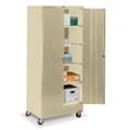 "36""W x 24""D x 85""H Mobile Combination Storage Cabinet, 31738"