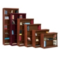 "Traditional Bookcase with Reinforced Shelves - 72""H, 32098"