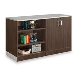 """Esquire 39""""H Bookcase and Wardrobe Set, 32179"""