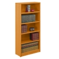 "Contemporary Five Shelf Bookcase - 71""H, 32751"