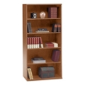 "Wide Five Shelf Bookcase - 72""H, 32876"