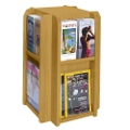 Literature Carousel with 8 Magazine Pockets, 33143