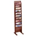 Floor Literature Rack with 10 Magazine Pockets, 33146