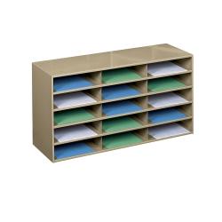 Steel 15 Pocket Literature Organizer 33285