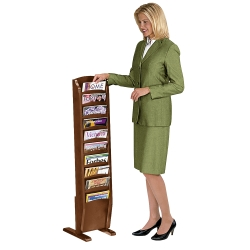 Magazine Rack with 10 Pockets, 33337