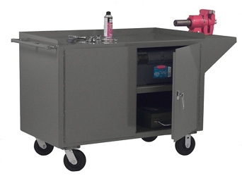 """Mobile Bench Cart - 66""""W x 24""""D, 37001"""
