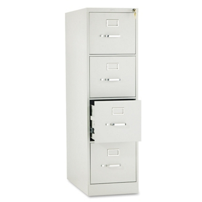 Four Drawer Letter Size Vertical File, 34928