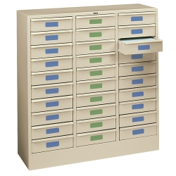 Legal Size 30-Drawer Storage Cabinet, 33369