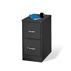 Two Drawer Letter Size Vertical File, 34427