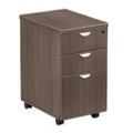"Esquire 16""W Three Drawer Mobile Pedestal, 34946"
