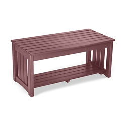 """Maintenance-Free Outdoor Coffee Table - 40""""W, 83077"""