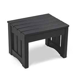 "Maintenance-Free Outdoor Foot Stool - 17.75""W, 83079"