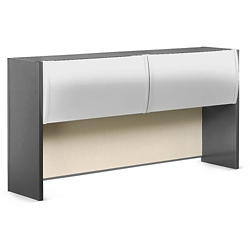"Alloy Metal Hutch with Tack Panel - 72""W, 36591"