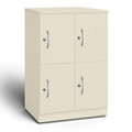 "24""W x 18""D x 35""H Quadruple Right Hand Cubby Locker, 36729"