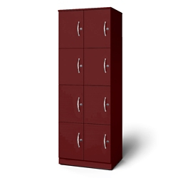 "24""W x 18""D x 66""H Eight Cubby Left Hand Locker, 36732"
