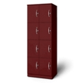 "24""W x 18""D x 66""H Eight Cubby Left Hand Locker, 36732"