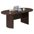 "Encompass 72"" Oval Conference Table Top and Modesty Panel , 40041"