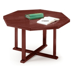 "Octagon Shaped Conference Table 42"", 40228"