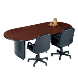 "Fluted Edge Oval Conference Table - 72"" x 36"", 40310"