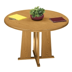 "Contemporary Round Conference Table - 42"" Diameter, 40417"