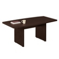 6' Boat-Shaped Conference Table, 40492-1