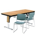"Rectangular Folding Conference Table - 72"" x 30"", 40539"